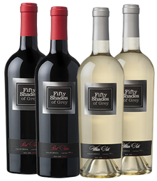 Fifty Shades of Grey Wine 4 Bottle Collection