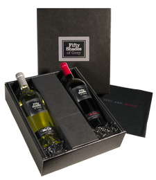 The Ultimate Fifty Shades of Grey Wine Gift Set